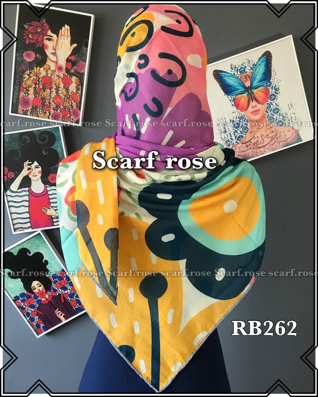 روسری نخی rb262