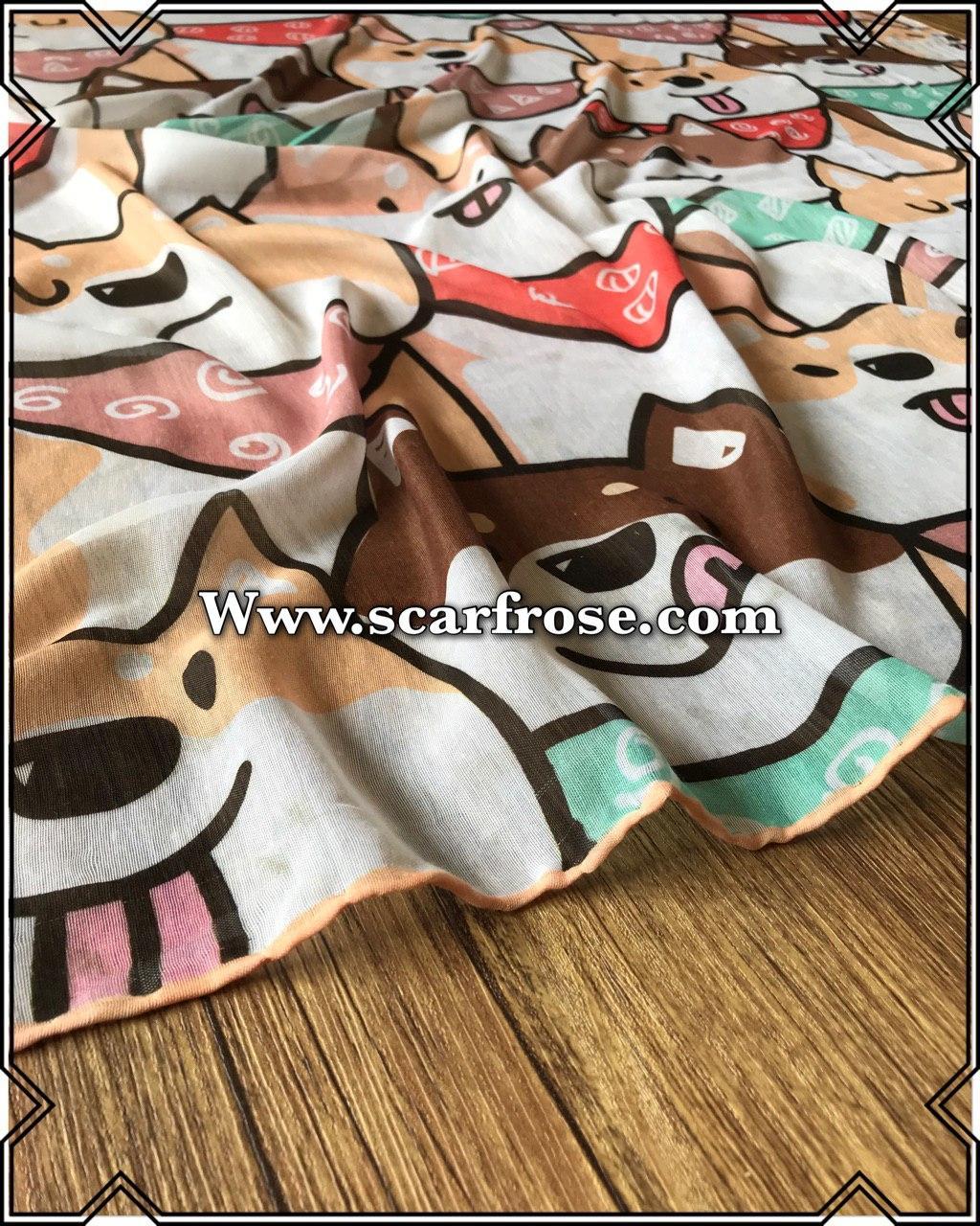روسری نخی rb416