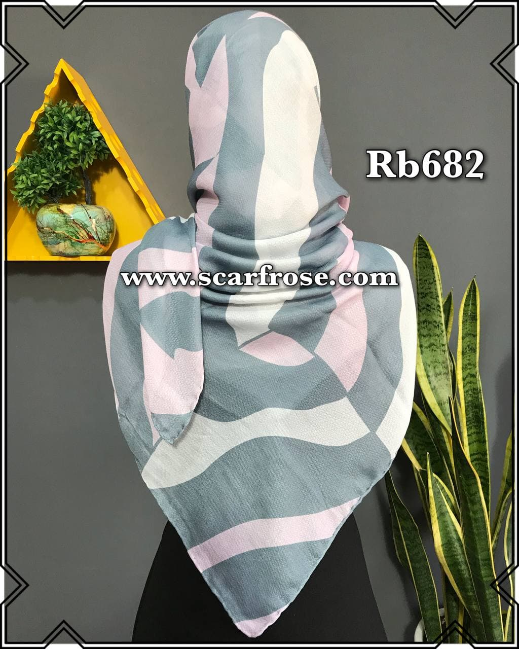 روسری نخی rb682