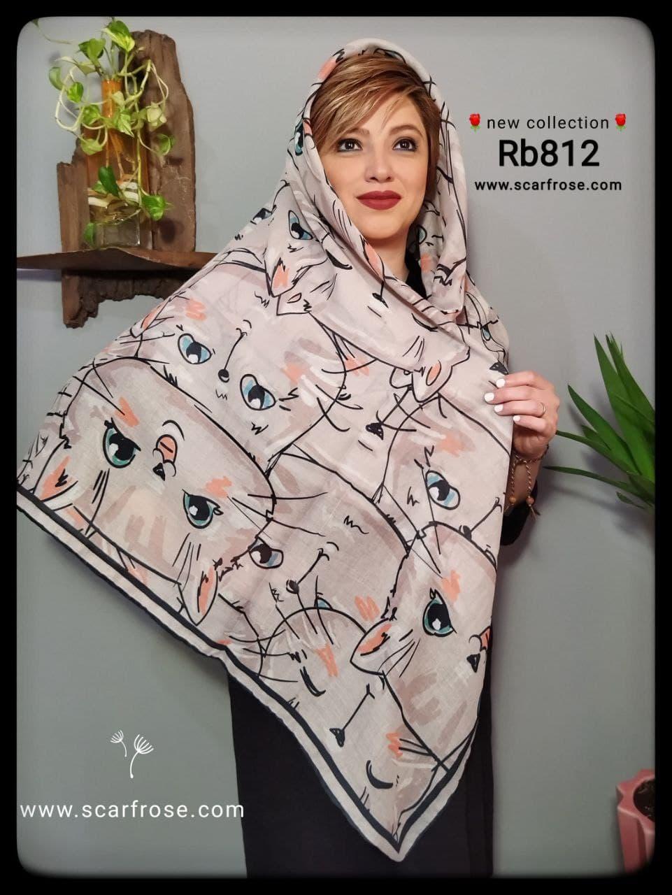روسری نخی rb812