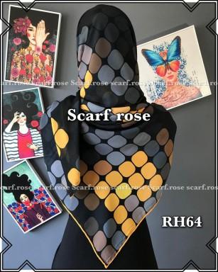 روسری حریر rh64