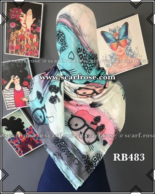 روسری نخی rb483