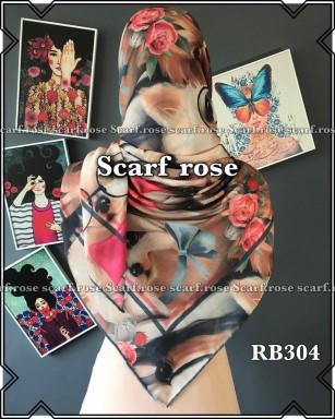 روسری نخی rb304