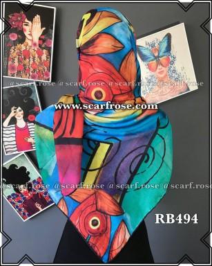 روسری نخی rb494