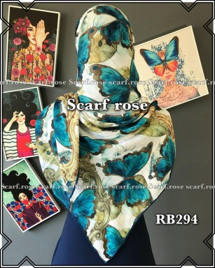 روسری نخی rb294