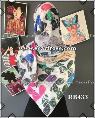 روسری نخی rb433