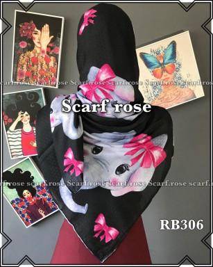 روسری نخی rb306