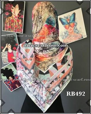 روسری نخی rb492