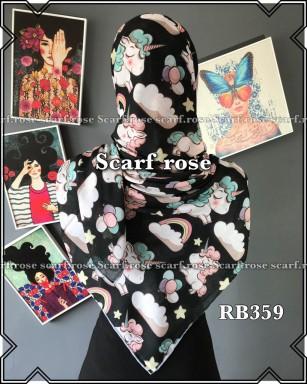 روسری نخی rb359