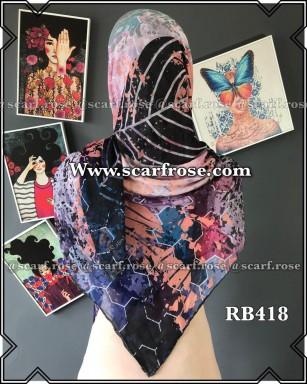 روسری نخی rb418