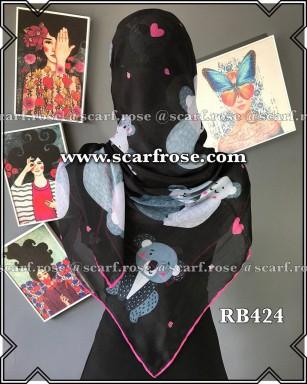 روسری نخی rb424