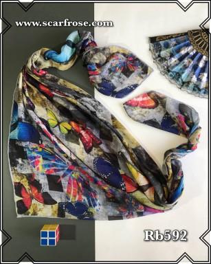 روسری نخی rb592