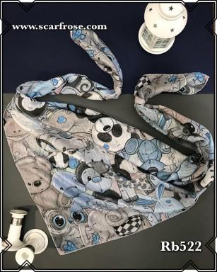 روسری نخی rb522