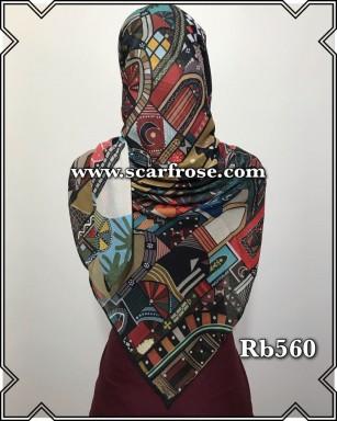 روسری نخی rb560