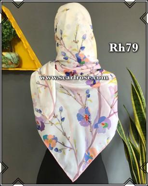 روسری حریر rh79
