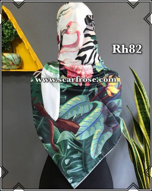 روسری حریر rh82