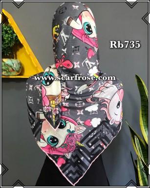 روسری نخی rb735
