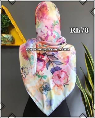 روسری حریر rh78