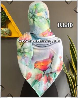 روسری حریر rh80