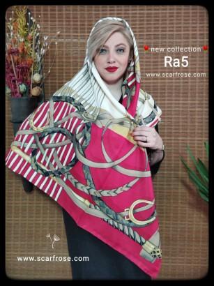 روسری ابریشمی ra5